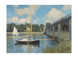 The Bridge at Argenteuil  1874