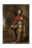Colonel Guy Johnson and Karonghyontye (Captain David Hill)  1776
