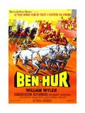 Ben-Hur  Charlton Heston  (French Poster Art)  1959