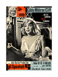 The Misfits  (aka Gli Spostati)  Italian Poster  Marilyn Monroe  1961