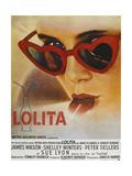 Lolita  Sue Lyon  French Poster Art  1962