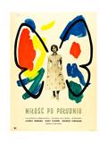 Love in the Afternoon  (AKA Milosc Po Poludniu)  Polish Poster  Audrey Hepburn  1957