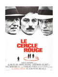 The Red Circle  (AKA Le Cercle Rouge)  from Left: Andre Bourvil  Alain Delon  Yves Montand  1970