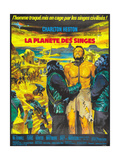 Planet of the Apes  (French Poster Art)  Charlton Heston  1968
