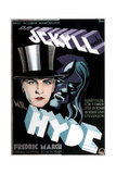 Dr Jekyll and Mr Hyde  Fredric March on Swedish Poster Art  1931