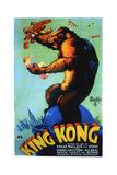 King Kong  Swedish Poster Art  1933