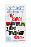 A Hard Day's Night  the Beatles  Paul Mccartney  John Lennon  George Harrison  Ringo Starr  1964