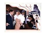 42nd Street  from Left  Warner Baxter  Ginger Rogers  Ned Sparks  Guy Kibbee  1933