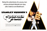A Clockwork Orange  British Poster Art  Malcolm Mcdowell  1971