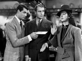 His Girl Friday  from Left: Cary Grant  Ralph Bellamy  Rosalind Russell  1940