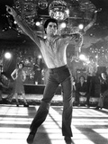 Saturday Night Fever  Fran Drescher (Background Left)  John Travolta  1977