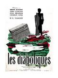 Diabolique  (AKA Les Diaboliques)  Dutch Poster  1955