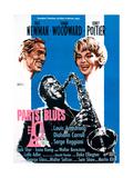 Paris Blues  from Left  Paul Newman  Sidney Poitier  Joanne Woodward  1961