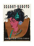 Black Narcissus  (aka Czarny Narcyz)  Polish Poster Art  1947