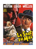 Touch of Evil  (aka La Soif Du Mal)  Janet Leigh  Charlton Heston  Orson Welles  1958
