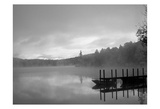 On The Dock BW