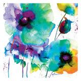 Color Flowers Reproduction d'art