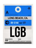 LGB Long Beach Luggage Tag I