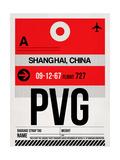 PVG Shanghai Luggage Tag I