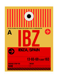 IBZ Ibiza Luggage Tag I