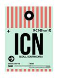 ICN Seoul Luggage Tag I