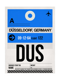 DUS Dusseldorf Luggage Tag I