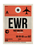 EWR Newark Luggage Tag I