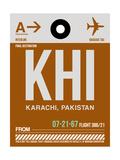 KHI Karachi Luggage Tag II