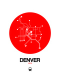 Denver Red Subway Map