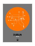 Dublin Orange Subway Map
