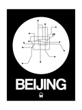 Beijing White Subway Map