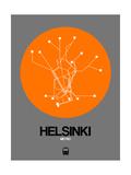 Helsinki Orange Subway Map
