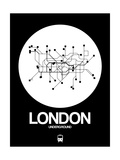 London White Subway Map