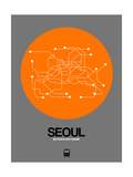 Seoul Orange Subway Map