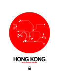 Hong Kong Red Subway Map