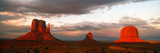 Rock Formations in Monument Valley  San Juan County  Utah  USA
