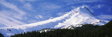 Mt Hood in Winter  Oregon  USA