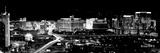 City Lit Up at Night  Las Vegas  Nevada  USA