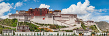 Low Angle View of the Potala Palace  Lhasa  Tibet  China