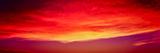 View of Cloudy Sky During Sunset  Santa Barbara  California  USA