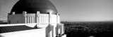 Observatory with Cityscape in the Background  Griffith Park Observatory  Los Angeles