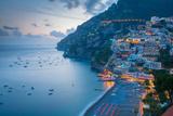 View over Positano  Costiera Amalfitana (Amalfi Coast)  UNESCO World Heritage Site