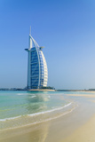 Burj Al Arab Hotel  Iconic Dubai Landmark  Jumeirah Beach  Dubai  United Arab Emirates  Middle East