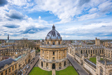 Radcliffe Camera and the View of Oxford from St Mary's Church  Oxford  Oxfordshire