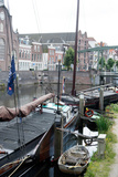The Historic Inner City Harbour of Delfthaven  Rotterdam  Netherlands  Europe