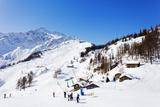 Courmayeur Ski Resort  Aosta Valley  Italian Alps  Italy  Europe
