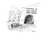 Tunnel of the Next Three Weeks - Cartoon