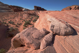 The Fire Wave  Valley of Fire  Near Las Vegas  Nevada  United States of America  North America