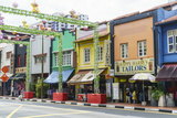 Colourful Shophouses in South Bridge Road  Chinatown  Singapore  Southeast Asia  Asia