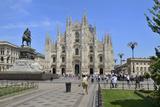 Milan Cathedral (Duomo)  Piazza Del Duomo  Milan  Lombardy  Italy  Europe
